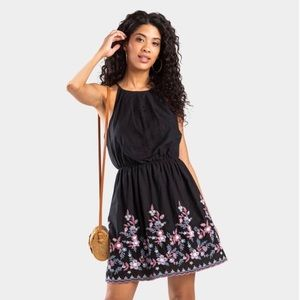 wyanne embroidered dress